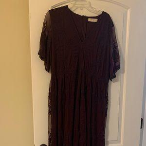 A Beautiful Soul Lace Maxi Dress